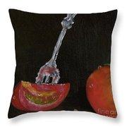 Tomato Appetizer Throw Pillow