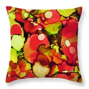 Tomato Plant Throw Pillow