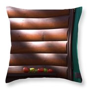 Tomatoes On Porch Throw Pillow