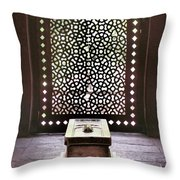Tomb At The Humayun Temple Complex Throw Pillow