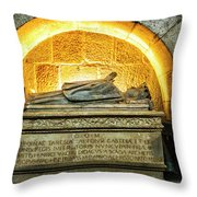 Tomb Of Dona Teresa Throw Pillow