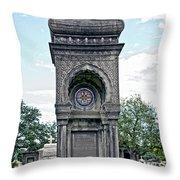 Tomb Of General P G T Beauregards Daughter Throw Pillow