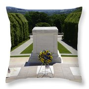 Tomb Of The Unknowns Throw Pillow