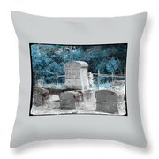 Tombstone Amiss Throw Pillow