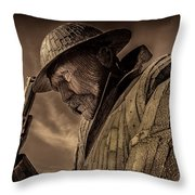 Tommy, 1101 Throw Pillow