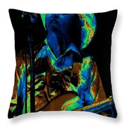 Tommy Caldwell Art 1 Throw Pillow