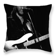 Tommy Caldwell In Spokane Throw Pillow