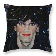Tommy Lee 80s Hair Bands Motley Crue Throw Pillow