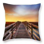 Tomorrow Never Knows Throw Pillow