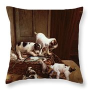 Tomorrow Will Be Friday Throw Pillow by John Hayes