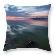 Tonal Sunset Throw Pillow