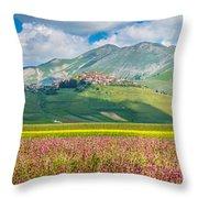 Tones Of Nature Throw Pillow
