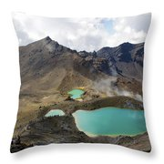 Tongariro Crossing Throw Pillow