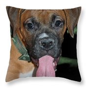 Tongue Lasher Throw Pillow