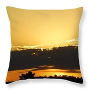 Tonights Sunset Throw Pillow