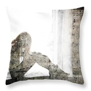 Tons Of The Loneliness  Throw Pillow
