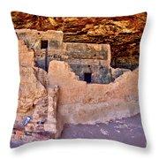 Tonto National Monument #1 Throw Pillow