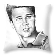 Tony Dow-whally Cleaver-murphy Elliott Throw Pillow