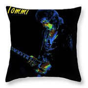 Into The Cosmic Void Throw Pillow