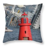 Too Closest To The Light Throw Pillow