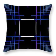 Too Hip To Be Square Throw Pillow