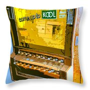 Too Kool Throw Pillow