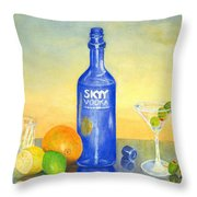 Too Many Skies Throw Pillow