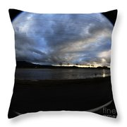 Too Much Rain Throw Pillow