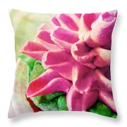 Too Pretty To Eat Throw Pillow