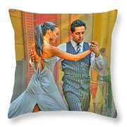 Too Tango Throw Pillow