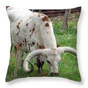 Too Tough To Eat Throw Pillow