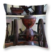 Tools For The Times Throw Pillow