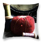 Tools Of The Trade Throw Pillow by Delight Worthyn