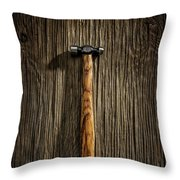 Tools On Wood 18 Throw Pillow