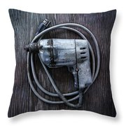Tools On Wood 30 Throw Pillow