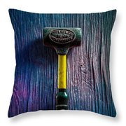 Tools On Wood 44 Throw Pillow