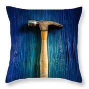 Tools On Wood 49 Throw Pillow
