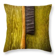 Tools On Wood 52 Throw Pillow