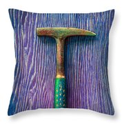 Tools On Wood 64 Throw Pillow