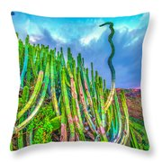 Top Discussion Throw Pillow