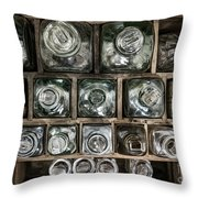 Top Down View Throw Pillow