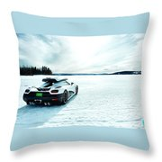 Top Gear Throw Pillow