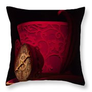 Top Hat Red Dream Throw Pillow