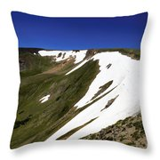 Top Of The Cirque Throw Pillow
