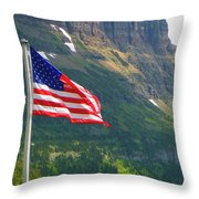 Top Of The Continental D. Throw Pillow