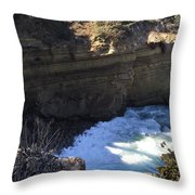 Top Of The Cove Throw Pillow