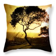 Top Of The Hill Throw Pillow