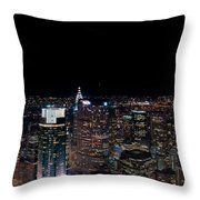 Top Of The Rock 3 Throw Pillow