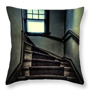 Top Of The Stairs Throw Pillow