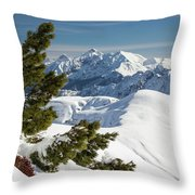 Top Of The Top - Lombardy / Italy Throw Pillow